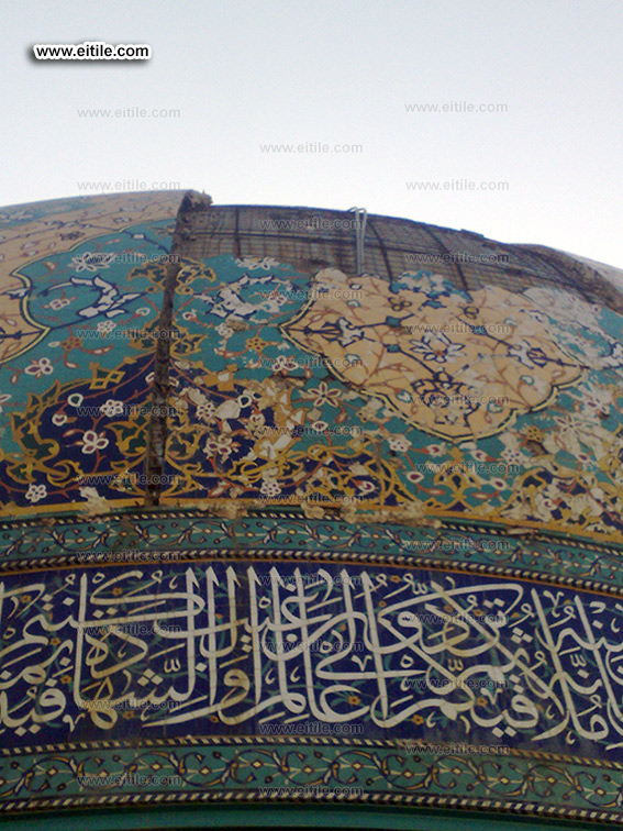 Tile for Mosque Dome, Dome Decoration, www.eitile.com
