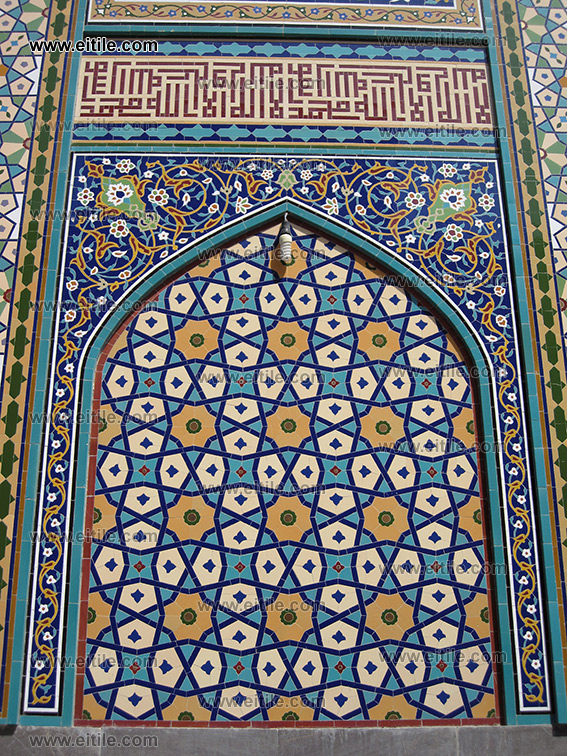 Moarragh Mosaic Tile in Gereh style, for interior and exterior decoration design, www.eitile.com
