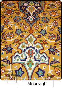 Moarragh tile, mosque tile decoration, www.eitile.com