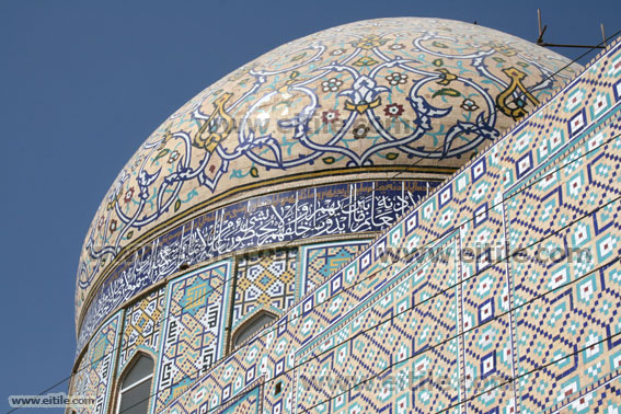 Ceramic tile for Mosque Dome, Erfan International Tile Company