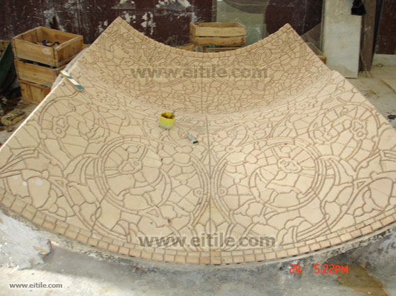 Ceramic Tiles for Mosque Dome, Erfan International Tile Company