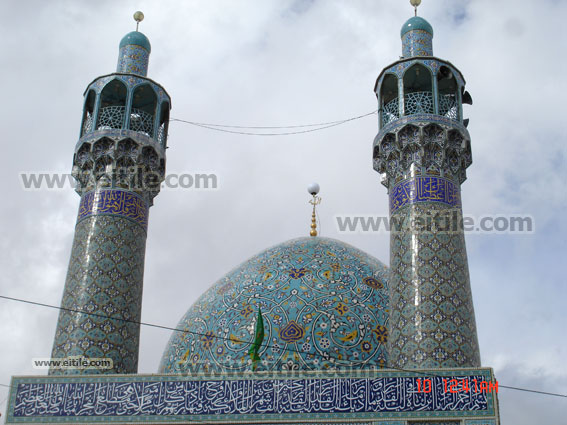 Ceramic tile for Mosque Dome and Minarets, Erfan International Tile Company