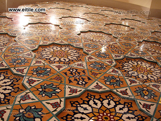 Moarragh Mosaic Tile in 3D Gereh style, for interior and exterior decoration design, www.eitile.com
