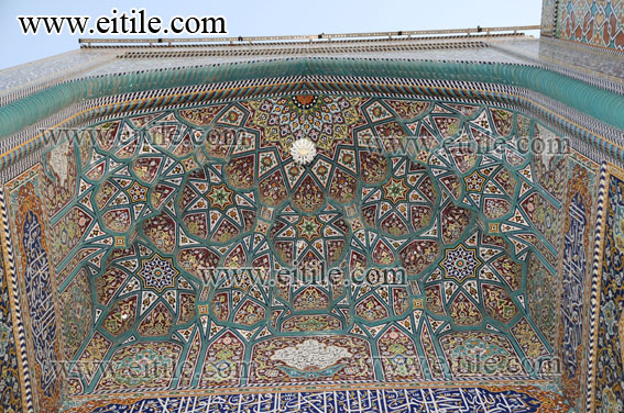 Mogharnas / Muqarnas Ceramic Tiles for Mosque Decoration