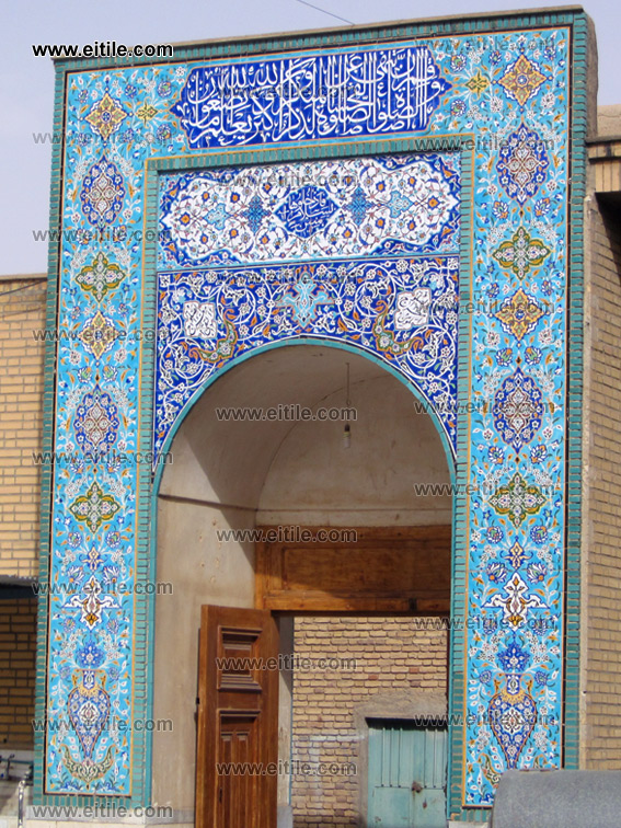 Khur o Biabanak Jonaid Shrine, Mosque Ceramic Tile, www.eitile.com