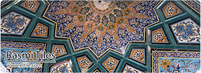 Mosque tiles for mihrab, www.eitile.com